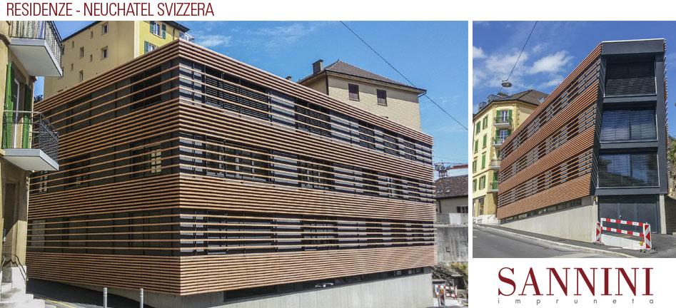 Facciate residenze neuchatel svizzera for Sannini impruneta