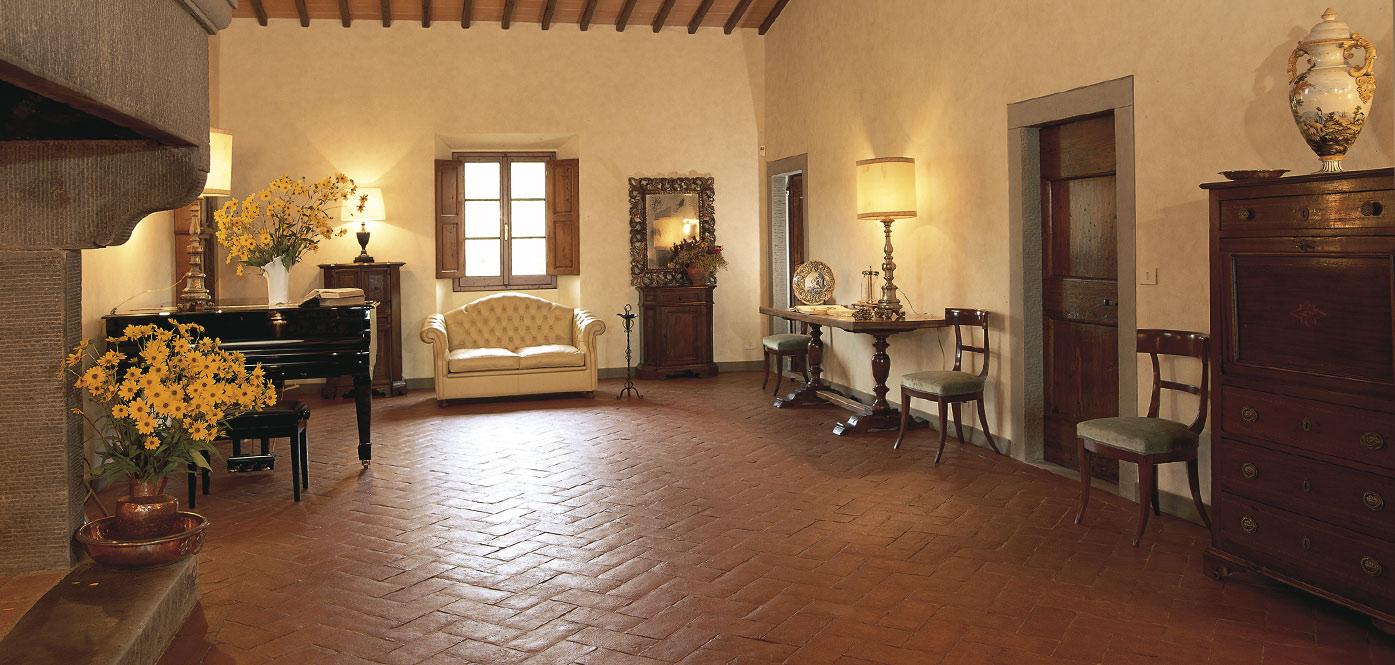 Pavimenti In Cotto Per Interni cotto fatto a mano classico per pavimenti interni ed esterni