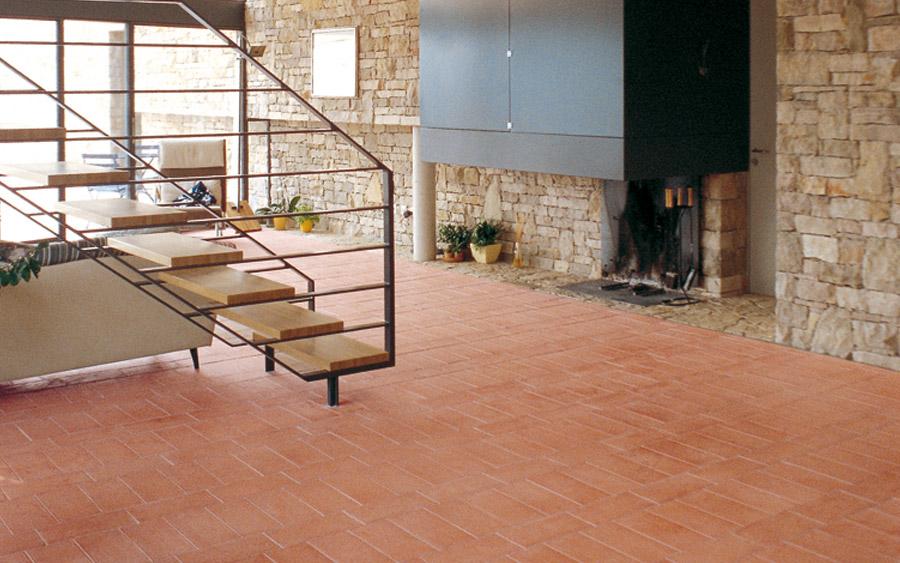 Sannini facciate ventilate pareti frangisole e pavimenti in cotto