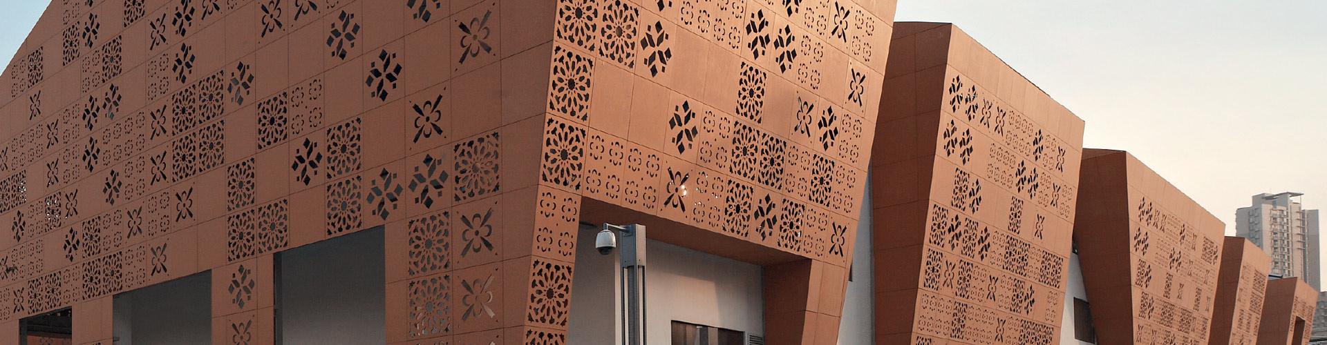 Pavimenti In Cotto Per Interni sannini facciate ventilate pareti frangisole e pavimenti in